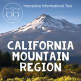 California Regions : Mountain