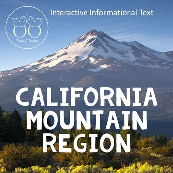 California Regions : Mountain