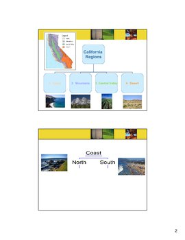 California Regions Notes