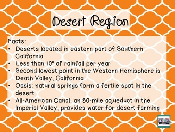 California Regions Photo File