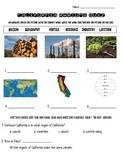 California Regions Quiz