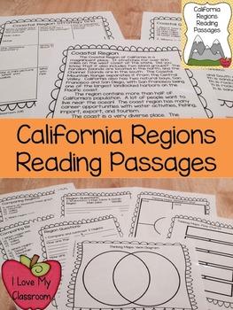 California Regions Reading Passages
