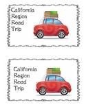 California Regions Suitcase