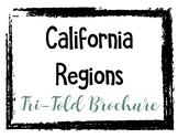 California Regions - Trifold Brochure