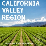 California Regions: Valley