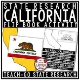 California Research Flip Book- California State Symbols