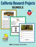 California Research Projects BUNDLE (Print + Digital Activities)