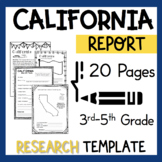 California State Research Report Project Template + bonus