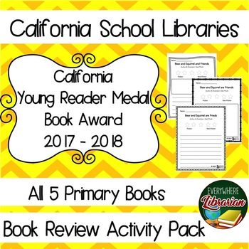 California School Library 2017 - 2018  Young Reader Award