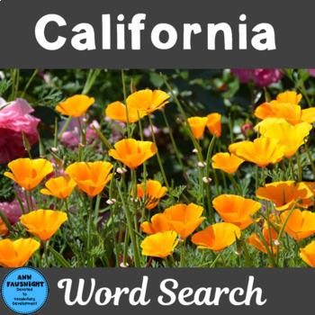 California Word Search