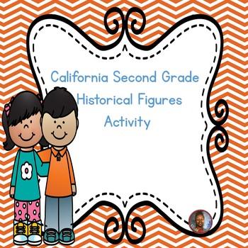 California Second Grade Historical Figures Activity