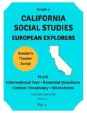 California Social Studies: European Explorers