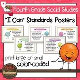 California Social Studies Standards - Fourth Grade Posters