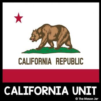 California Social Studies Unit - (No Prep)