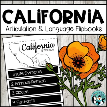 California Speech/Language Flipbooks