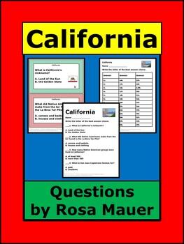 California Welcome to the USA