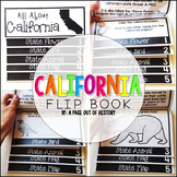 California State Flipbook Interactive Activity for Social Studies