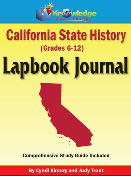 California State History Lapbook Journal
