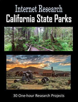 California State Parks (One-hour Internet Research Projects)