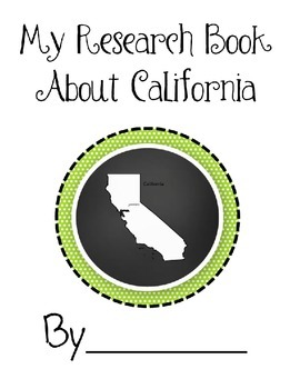 California State Research Book
