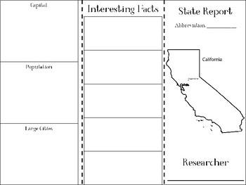 California State Research Brochure