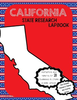 California State Research Lapbook Interactive Project
