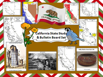 California State Study & Bulletin Board Set