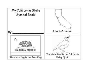 California State Symbol Flip Book