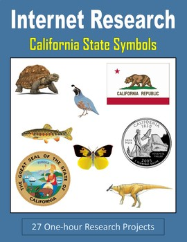 California State Symbols (One-hour Internet Research Projects)