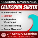 California Surfer Breaks Stereotypes Reading Response Article 007