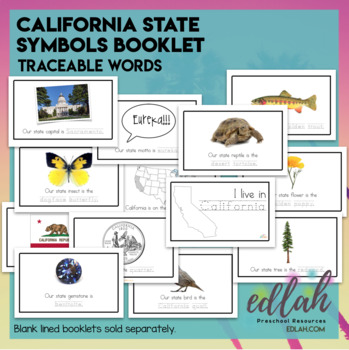 California State Symbols Bo... by Melissa Schaper | Teachers Pay ...