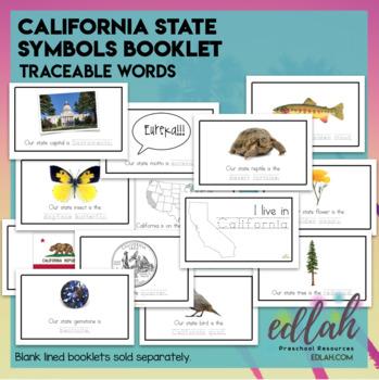 california state symbols booklet by melissa schaper tpt