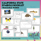 California State Symbols Booklet - Traceable Words