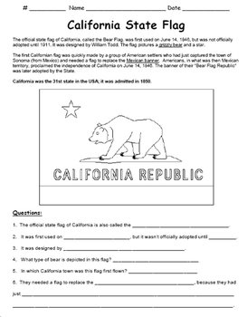 California Symbols and Landmarks (PowerPoint)