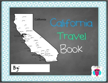 California Travel Book