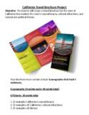 California Travel Brochure