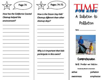 California Treasures 3rd Grade Unit 4 Trifolds Bundle