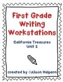 California Treasures First Grade Writing Workstations: Unit 2