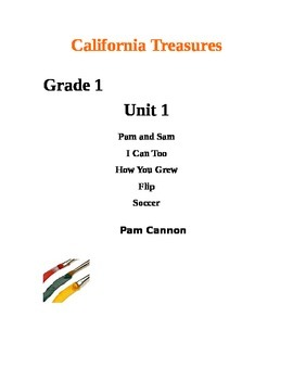 California Treasures Grade 1 Unit 1 Questions and Activities