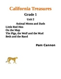 California Treasures Grade 1 Unit 2 Questions and Activities
