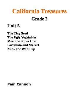 California Treasures Grade 2 Unit 5 Questions and Activities