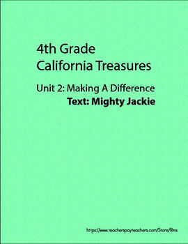 California Treasures: Mighty Jackie