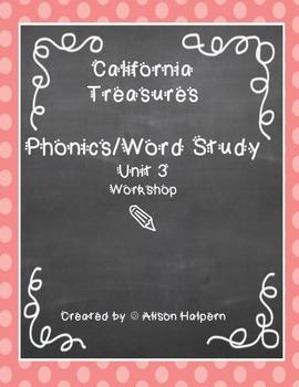California Treasures Phonics Unit 3
