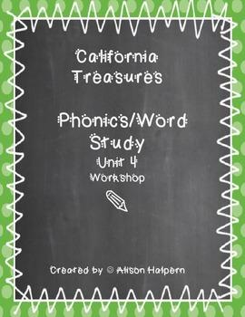 California Treasures Phonics Unit 4