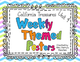 California Treasures Weekly Posters Unit 4