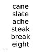California Wonders Grade 4 Unit 1 Week 2 Spelling List