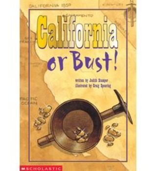 California or Bust Reading Guide (Common Core Aligned)