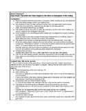Calkins' A Deep Study about Characters grades 6-8 Cheat Sheets for BEND 2