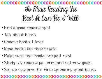 Calkins Grade 3 Unit 1: Building a Reading Life POWERPOINT & STUDENT TOOLS