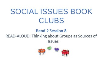 Calkins' Social Issues Book Clubs for Grades 6-8 PowerPoint for BEND 2